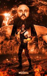 Braun Strowman x Kane - Dream WM34 Team by ArselGFX