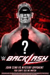 Backlash 2018: John Cena vs Mystery opponent