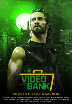 TPW Video In The Bank 2018 official poster