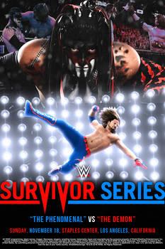 AJ Styles vs Finn Balor - Survivor Series 2018