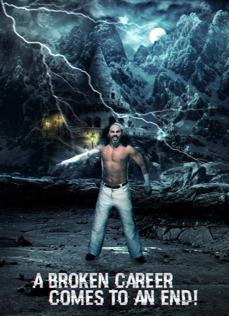 Matt Hardy - A broken career comes to an end by ArselGFX