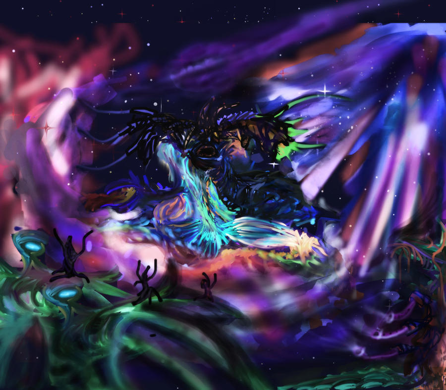 Azathoth Vs Cthulhu Azathoth by OldmanKazh...