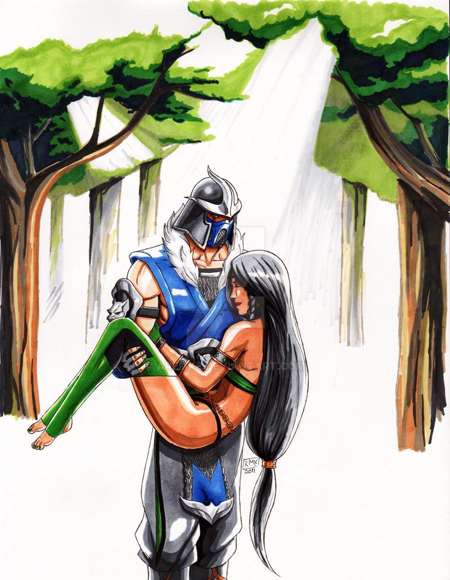 Mortal Kombat Sub Zero And Jade