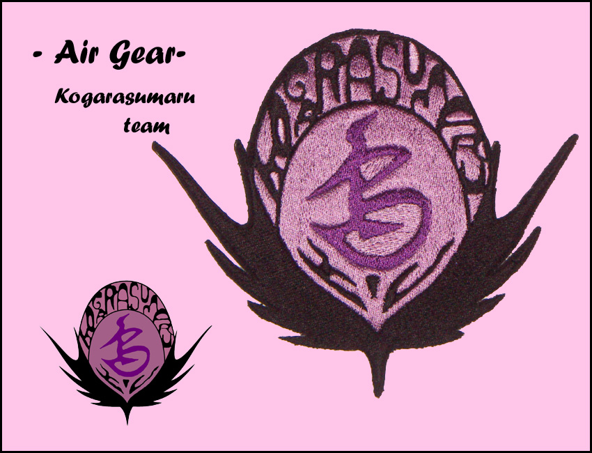 PATCH -Air Gear- Kogarasumaru by LunaeLunetta