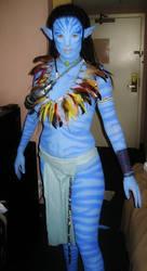 Neytiri prepares for Dragon*con by maxwellcave