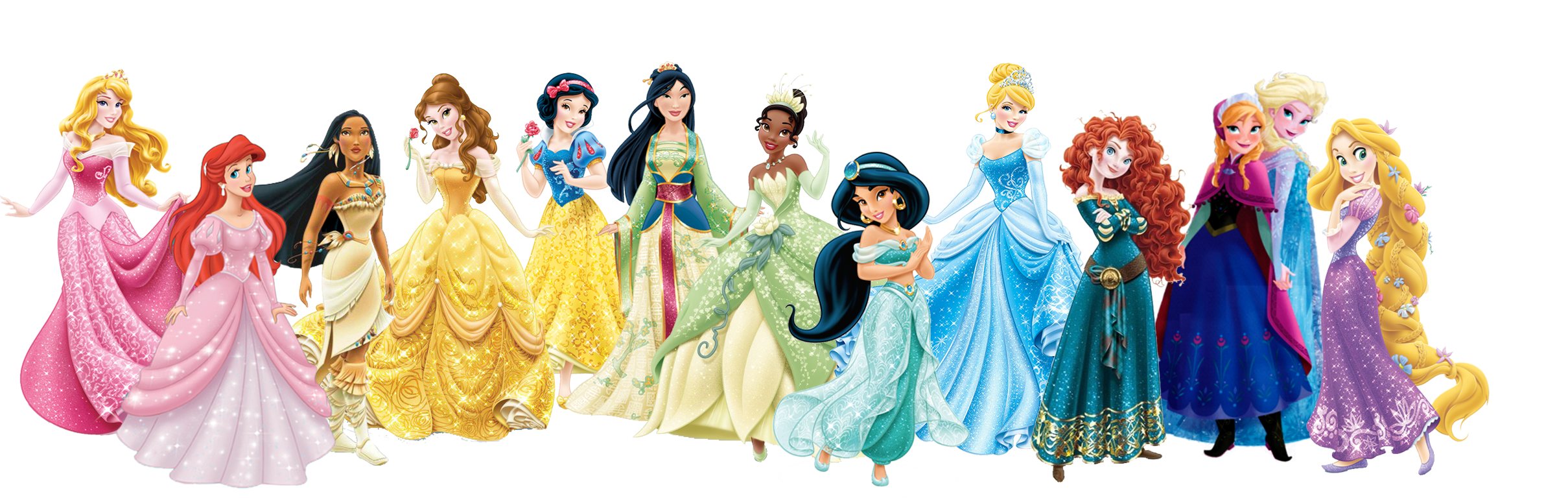 All Disney Princesses Plus Frozen By Mary62442 On Deviantart
