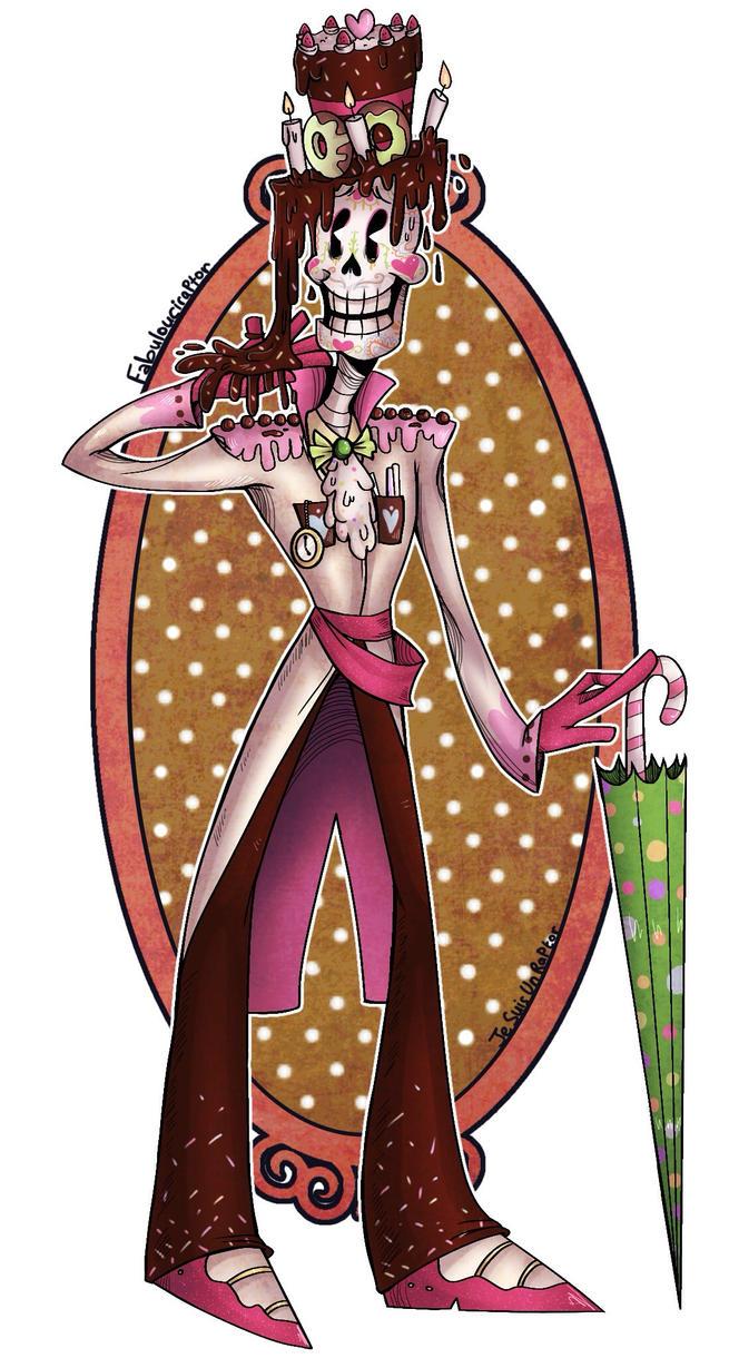 Sugar Skeleton by JeSuisUnRaptor