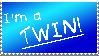 Twin Stamp :3 by nikkihog
