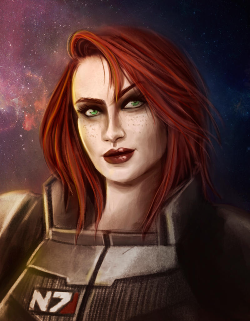 Female Shepard - Paragon by Luh-Dwolf