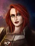Female Shepard - Paragon