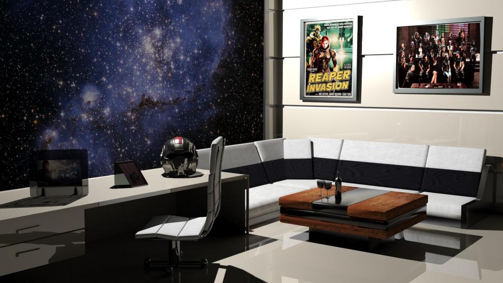 3D Mass Effect Place by Luh-Dwolf on DeviantArt