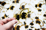 Clearly 'Chasing Bones' Stickerpack
