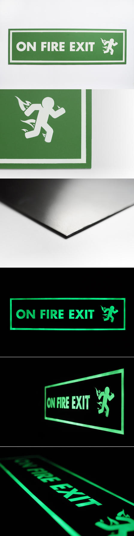 'On Fire Exit' (Collector's Cut) by ThePpeGFX