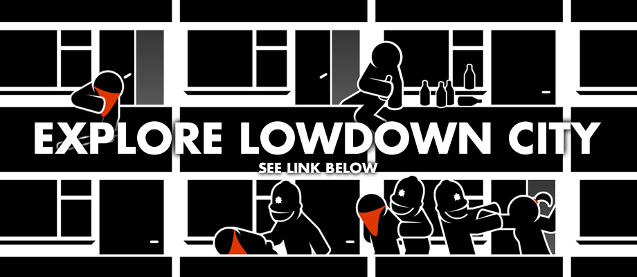 'Lowdown City' Online by ThePpeGFX