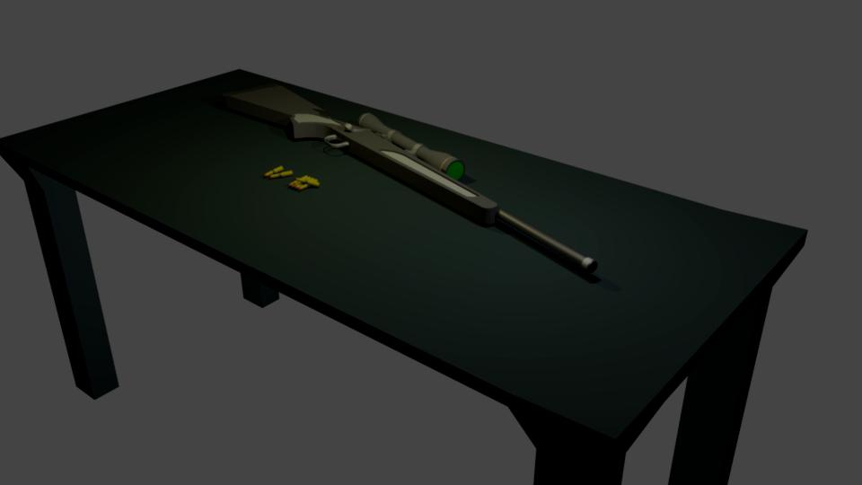 Rifle by cyteknoborg
