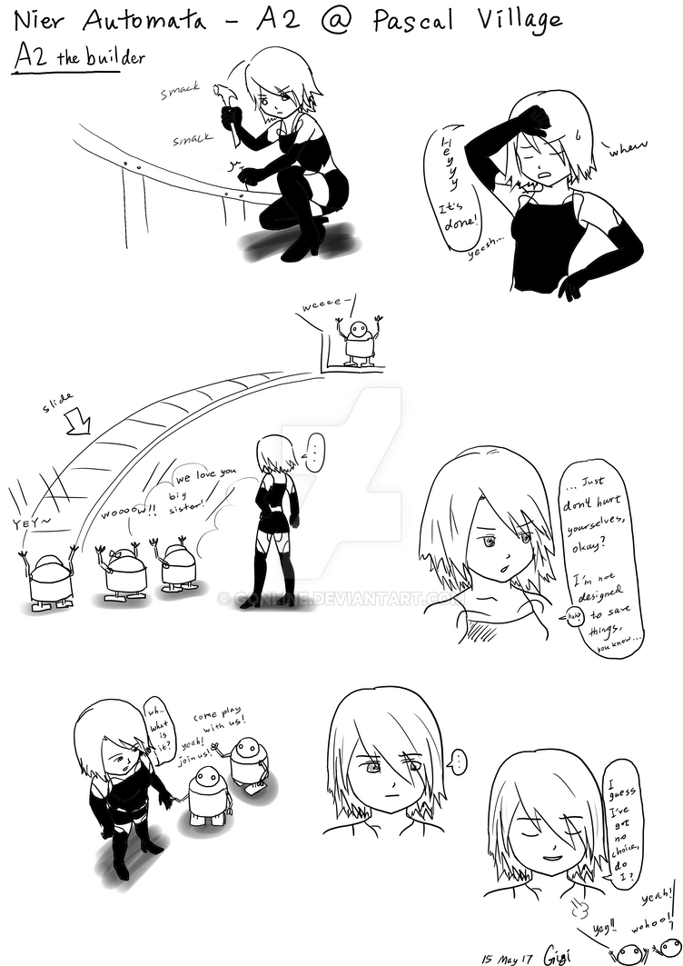 Nier Automata - A2 the builder by gonline