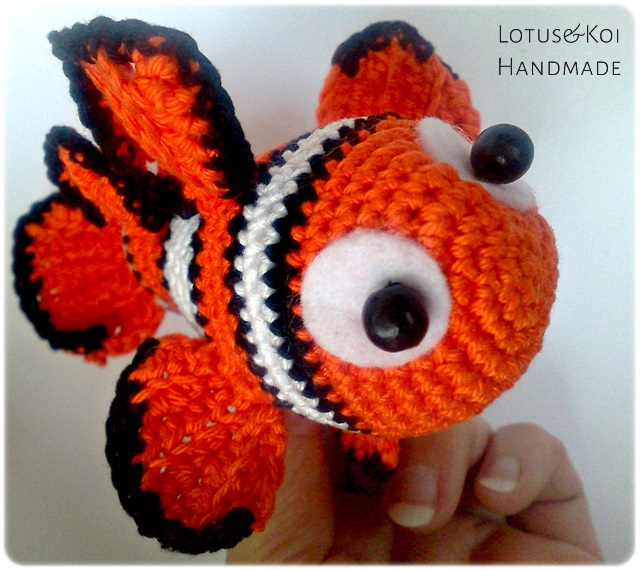 Amigurumi Sailor Octopus Pattern Free : Amigurumi Nemo by AmigurumidiFaby on DeviantArt