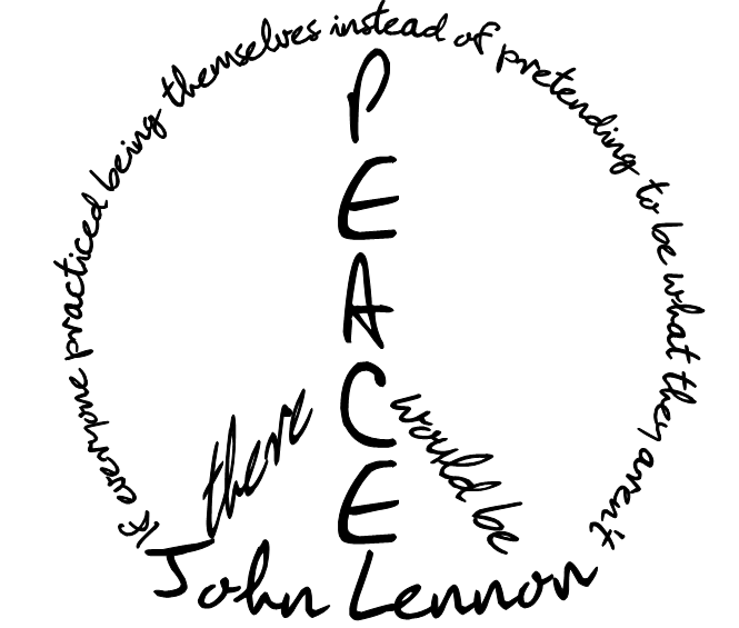 john lennon quote by ecachuonfire on deviantart. Black Bedroom Furniture Sets. Home Design Ideas