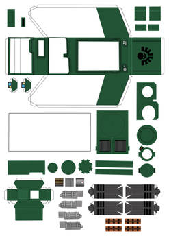 Space Marine Predator part1