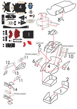 How to assemble the Fire Prism