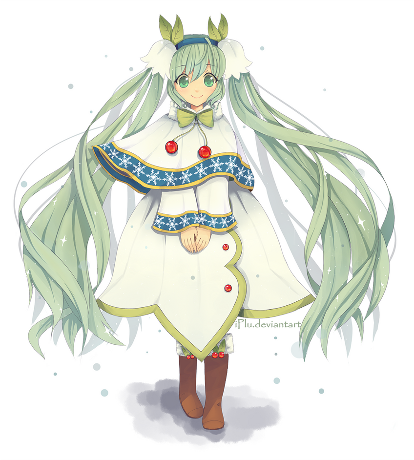 Snow Miku 2015 by iPlu