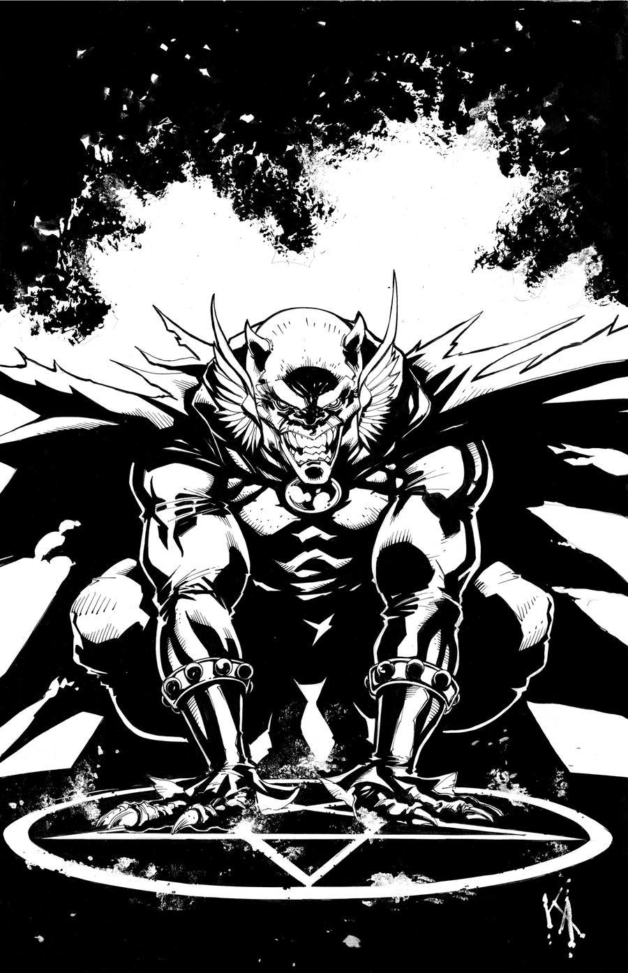 The Demon by KomicKarl