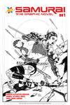 Samurai OGN Sneak Peek Cover by KomicKarl