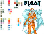 BLAST Palette 01 by KomicKarl