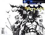 Batman Sketch Cover Bat-Fam