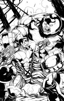 Colossus vs. Juggernaut