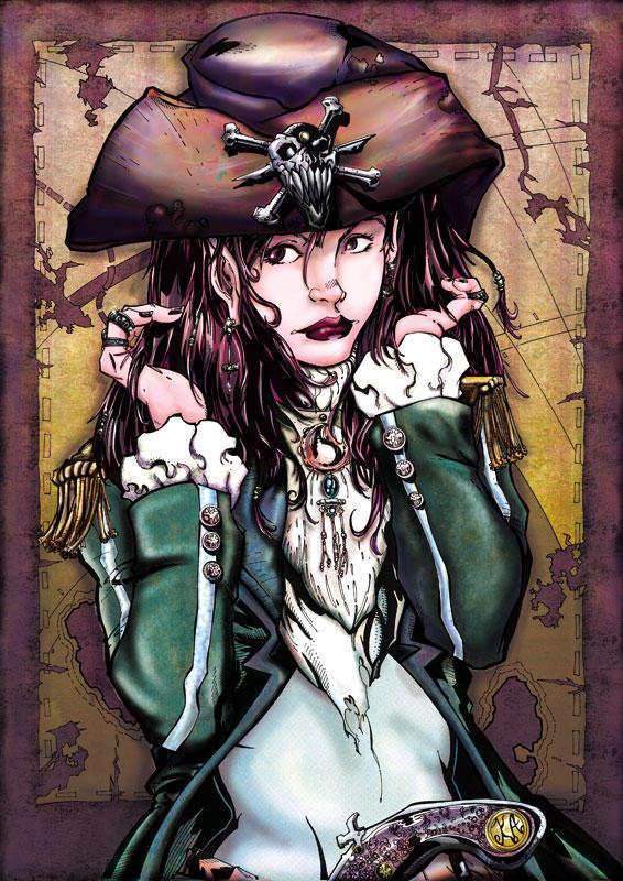 Pirate Girl by KomicKarl