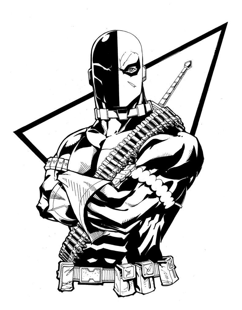 black death coloring pages | Punisher/Batman vs vs Deathstroke - Battles - Comic Vine