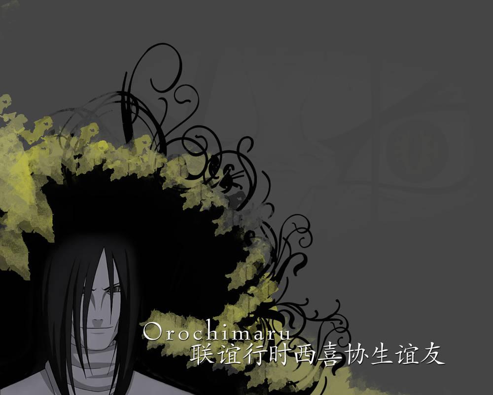 naruto wallpaper   orochimaru by kega swe d77aor