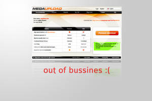 MEGAUPLOAD OUT OF BUSSINES by HiticasOvi