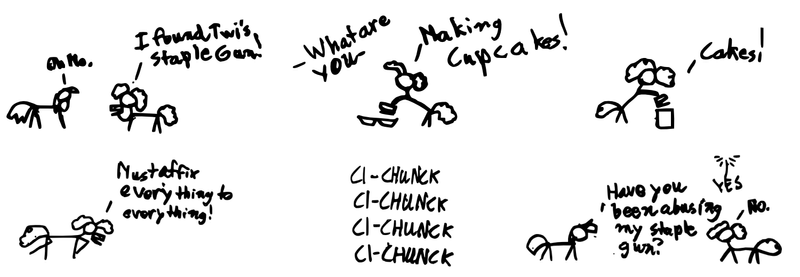 xkcd ponies- The staple madnes by ToaOfTech on DeviantArt