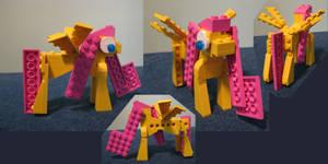 Lego Fluttershy by ToaOfTech