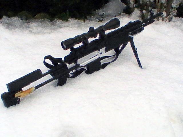 Winterized M14Ebr by ScopedEvil on DeviantArt