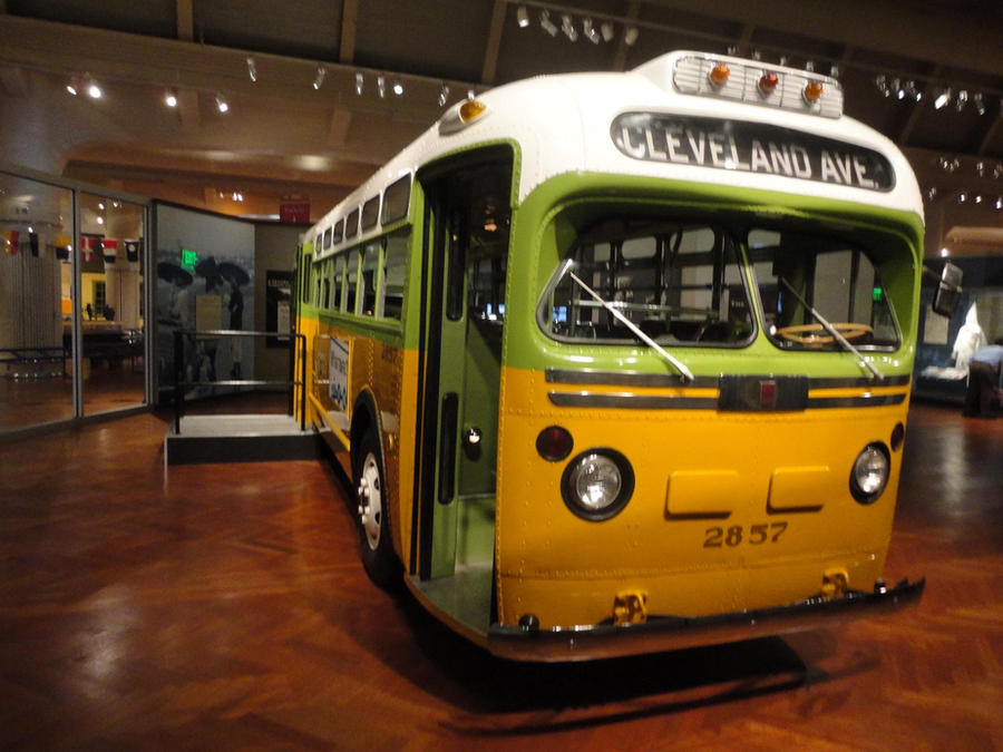 Rosa Parks Bus By Yrt9401 On Deviantart