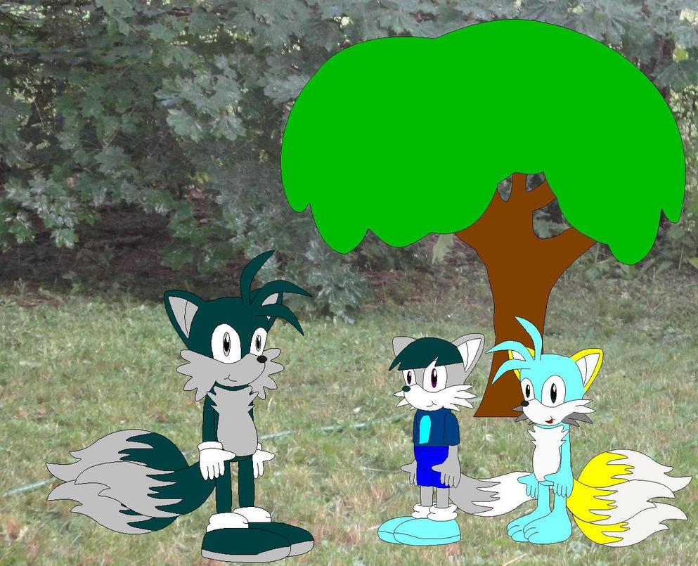 Merrick, Max, and Masaaki by YRT9401