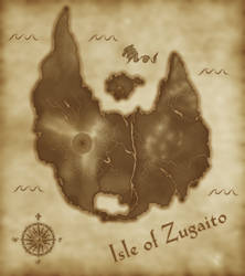 Isle of Zugaito - LOST MAP by TheRoyalRebellion