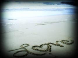 Love in the Sand by RiannaBearz