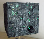 Borg Cube Built By Moviemodeller.co.uk