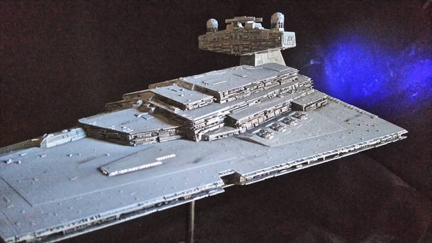 StarWars Star Destroyer Build  3
