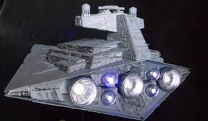 Star Destroyer Build By Moviemodeller