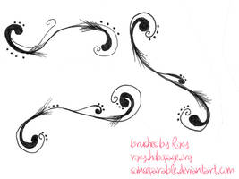 Swirly Brushes 2 by soinseparable