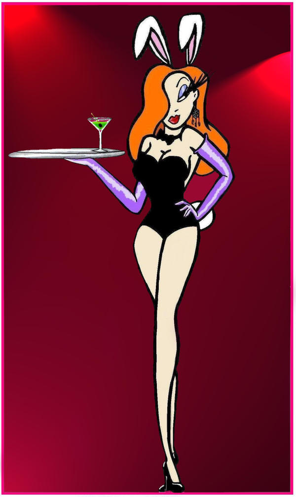 Jessica Rabbit does Playboy by PurrpleCatt
