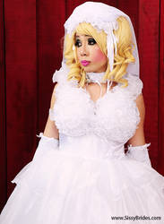 Bridal sissy by urobolus83