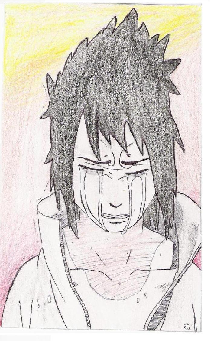 Sasuke Crying by HiddnLeaf