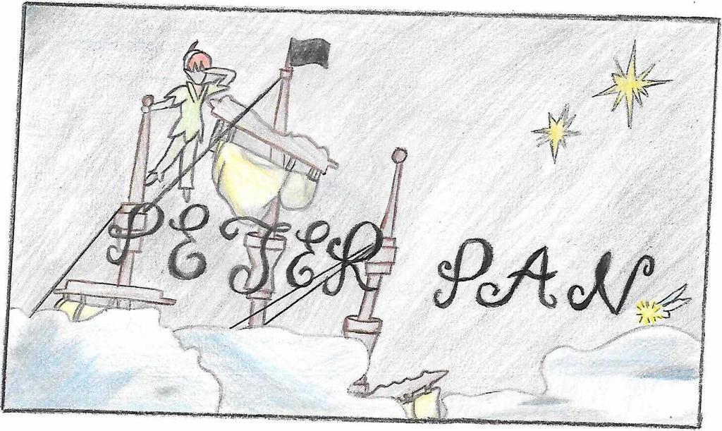 Peter Pan by HiddnLeaf