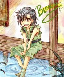 Bleach: Kid Ukitake by kittykatkanie